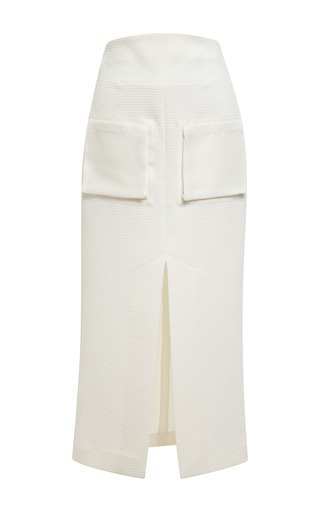 Medium ellery white ivory reard skirt