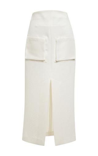 Medium ellery white ivory reard skirt