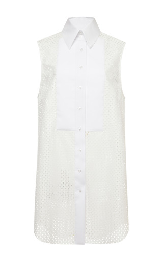 Medium ellery white white eleanor shirt