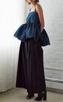 Ellery Teal And Black Marine Top by ELLERY for Preorder on Moda Operandi