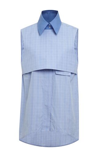Medium ellery blue blue and pale blue danube shirt