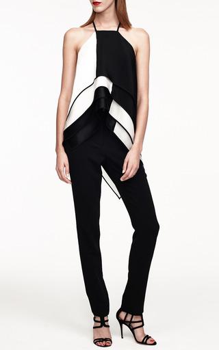 Silk Crepe Scarf Tunic by MONIQUE LHUILLIER for Preorder on Moda Operandi
