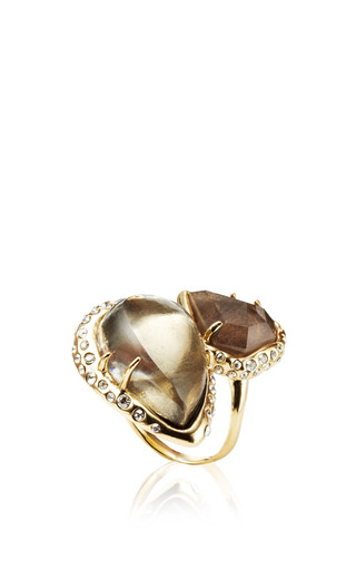Miss Havisham Stacked Cocktail Ring by ALEXIS BITTAR for Preorder on Moda Operandi