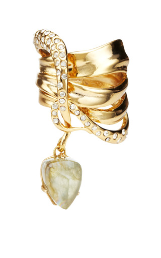 Miss Havisham Large Charmed Ribbon Ring by ALEXIS BITTAR for Preorder on Moda Operandi