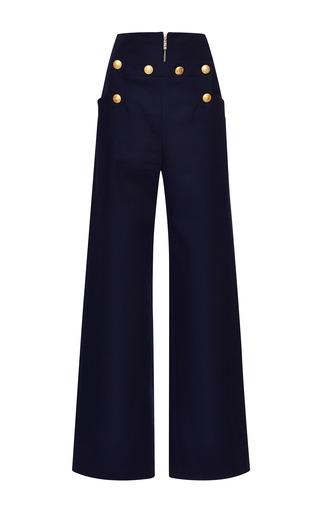 Medium kenzo blue cotton gabardine pants