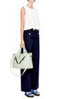 Kalifornia Medium Tote Bag In Vert Absinthe Sauvage by KENZO for Preorder on Moda Operandi