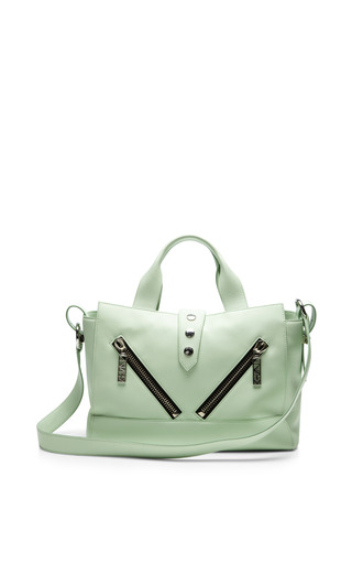 Medium kenzo green kalifornia medium tote bag in vert absinthe sauvage