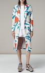 Floral Printed Coating Menswear Coat by THAKOON for Preorder on Moda Operandi