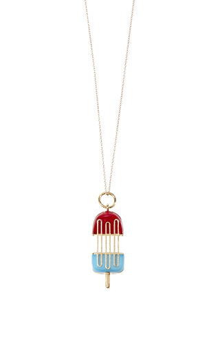 Medium alison lou gold rocket pop pendant