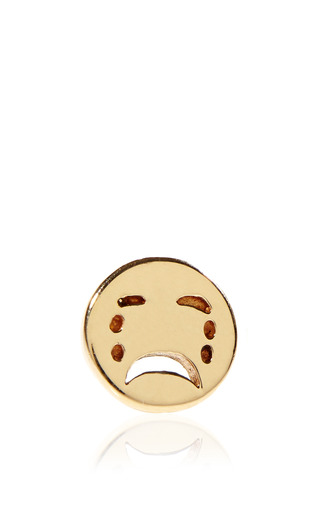 Medium alison lou gold sad stud