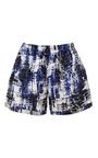 Brushstroke Cotton Shorts by SEA for Preorder on Moda Operandi
