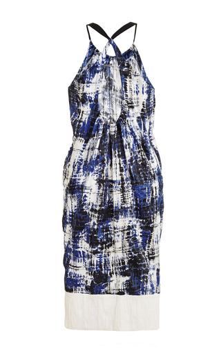 Brushstroke Cotton Tank Dress by SEA for Preorder on Moda Operandi