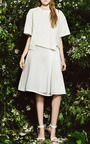 Honeycomb Mesh Side Pleat Skirt by SEA for Preorder on Moda Operandi