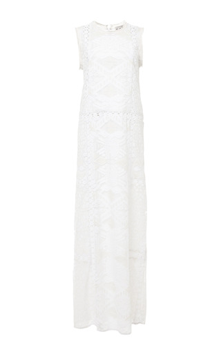 Tribal Lace Maxi Dress by SEA for Preorder on Moda Operandi