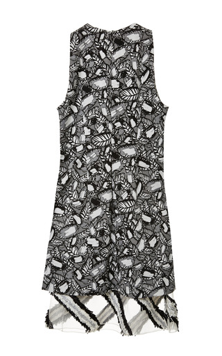 Layered Frond Double Layer Dress by OPENING CEREMONY for Preorder on Moda Operandi