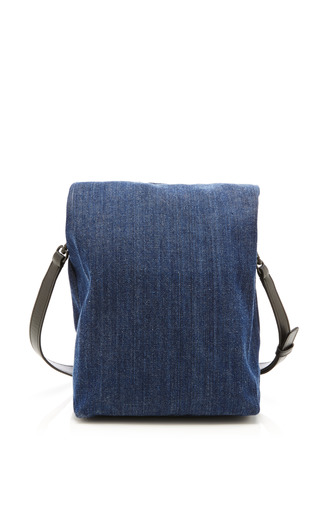 Athena Small Lunch Bag In Eclipse Blue by OPENING CEREMONY for Preorder on Moda Operandi