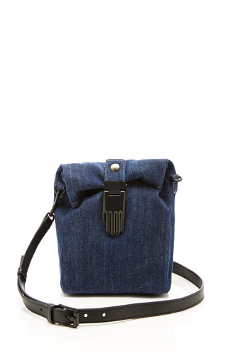 Medium opening ceremony blue athena small lunch bag in eclipse blue
