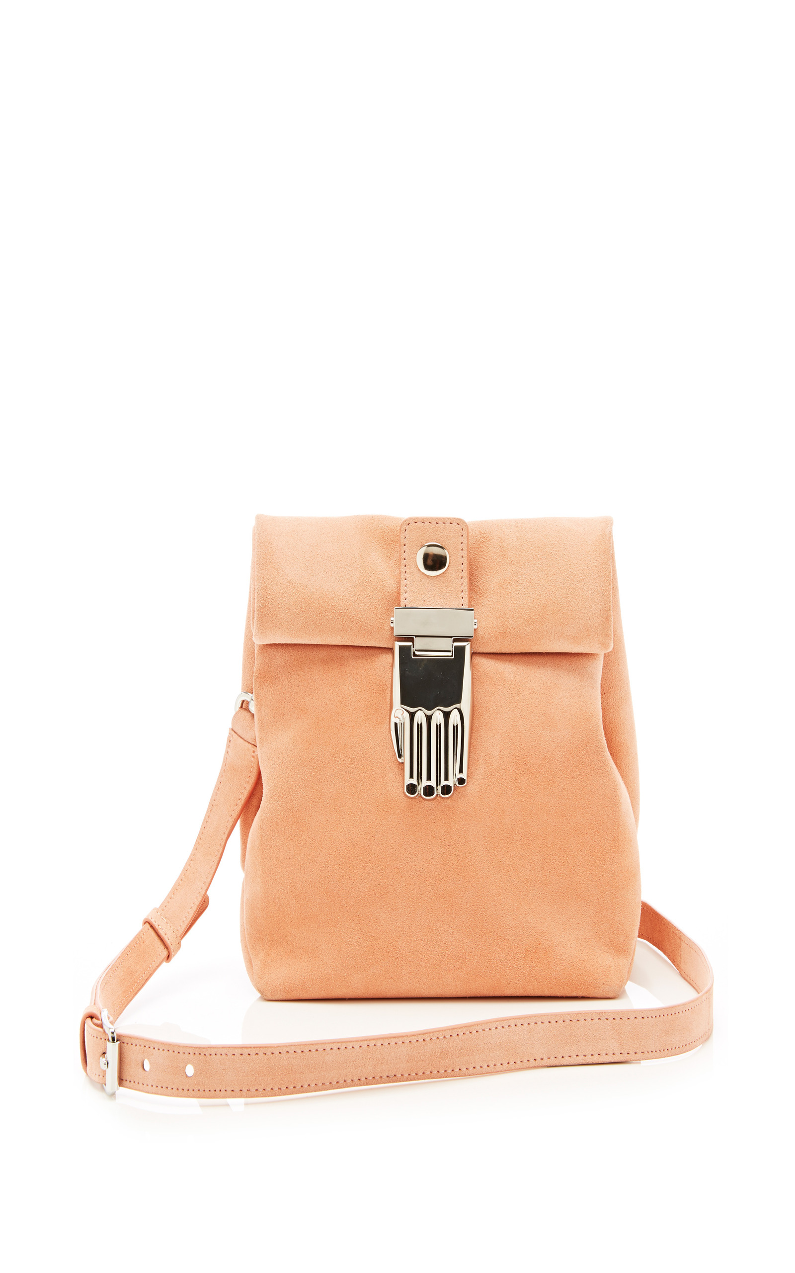 athena small lunch bag in blush pink by opening moda