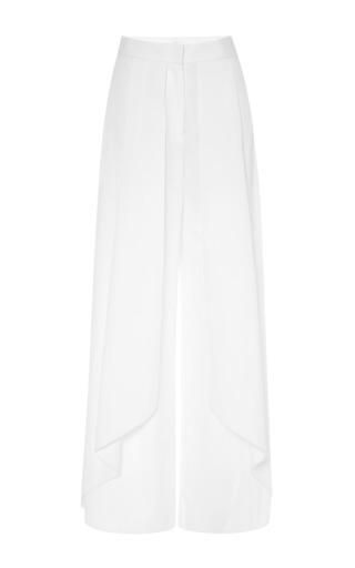 Medium rosie assoulin white white cotton poplin wrap pants