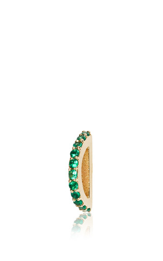 Medium paige novick green arc en ciel half circle single stud