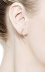 Elizabeth Classic Short Bar Earring by PAIGE NOVICK for Preorder on Moda Operandi