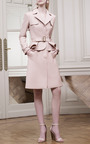 Blush Single Breasted Trench Coat by ELIE SAAB for Preorder on Moda Operandi