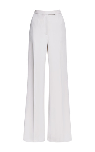 Elie Saab Jasmine Stretch Cady Wide Pant by ELIE SAAB for Preorder on Moda Operandi