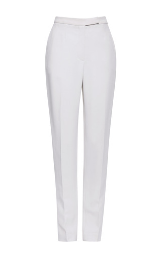 Jasmine Stretch Cady Slim Pants by ELIE SAAB for Preorder on Moda Operandi