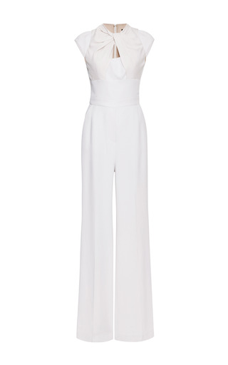 Elie Saab Jasmine Twist Knot Jumpsuit by ELIE SAAB for Preorder on Moda Operandi