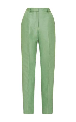 Medium zac posen light green peppermint ottoman pant