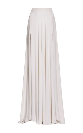 Jasmine Silk Georgette Maxi Skirt by ELIE SAAB Now Available on Moda Operandi