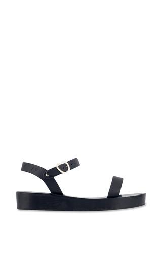 Medium ancient greek sandals black drama sandal in black 2