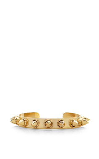 Medium monica sordo gold rocker baby cuff