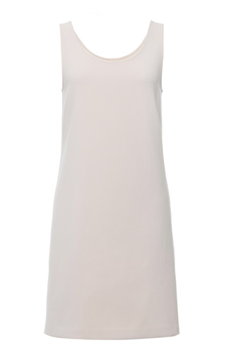 Wheat Technical Crepe Sleeveless Dress by CALVIN KLEIN COLLECTION for Preorder on Moda Operandi
