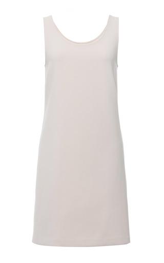 Wheat Technical Crepe Sleeveless Dress by CALVIN KLEIN COLLECTION for Preorder on Moda Operandi