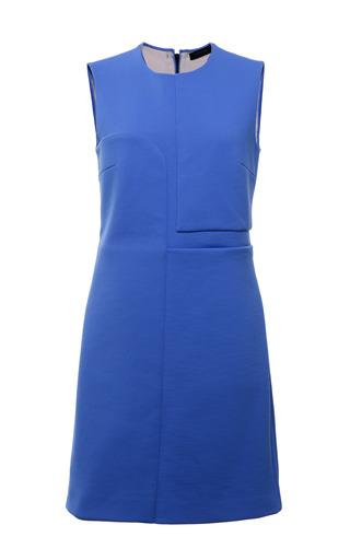 Cerulean Double Faced Compact Nylon Sleeveless Dress by CALVIN KLEIN COLLECTION for Preorder on Moda Operandi