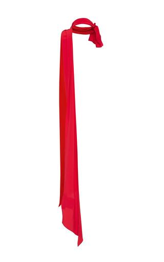 Medium marni red red silk scarf