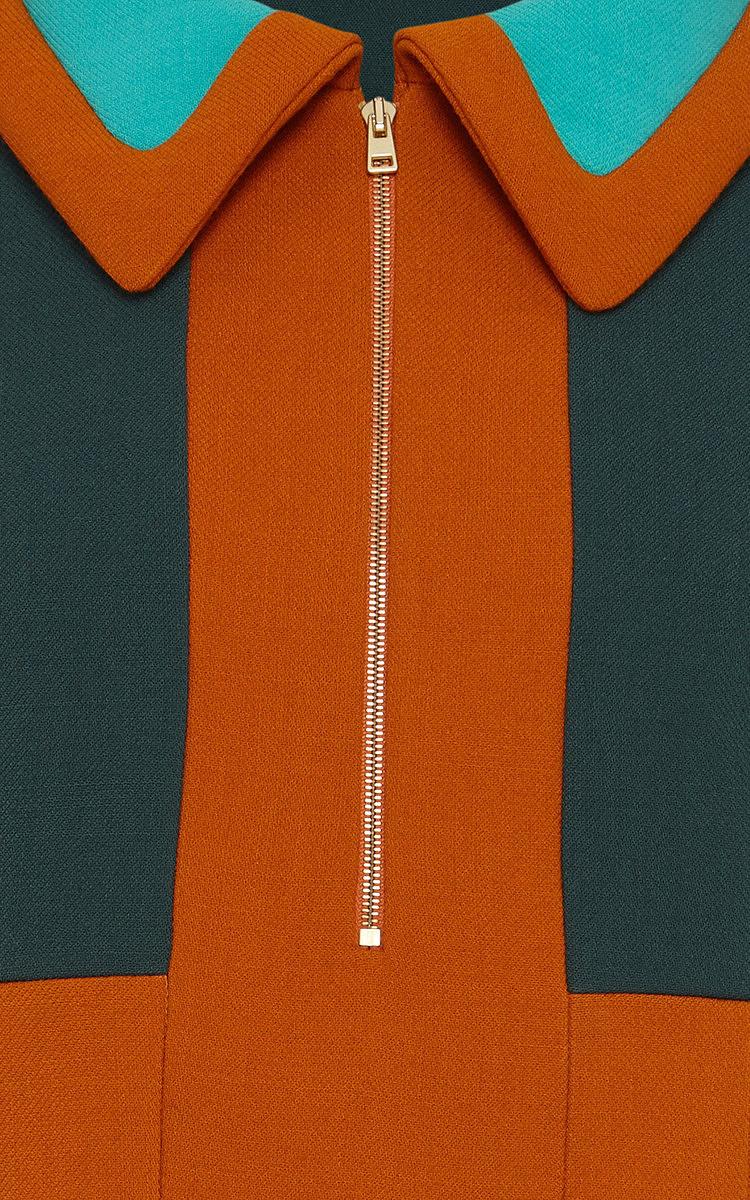 1b1e8b49 MarniColor-Block Bonded Wool Jersey Polo Top. CLOSE. Loading. Loading