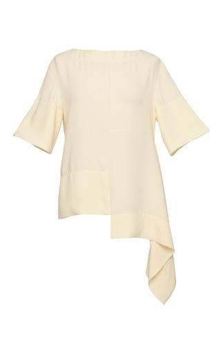 Medium marni white off white staggered hem top