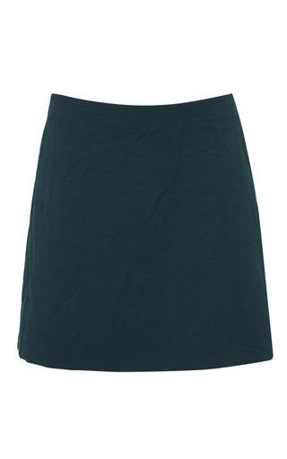 Medium marni green hunter green mini skirt