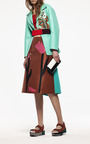 Raffia Flower A Line Skirt by MARNI for Preorder on Moda Operandi