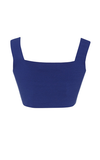 Cobalt Blue Knit Tank Top by MARNI for Preorder on Moda Operandi
