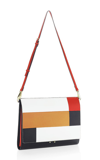 Cinder Rose And Brick File Pochette by MARNI for Preorder on Moda Operandi