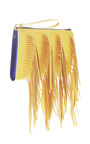 Maize Fringe Pochette by MARNI for Preorder on Moda Operandi