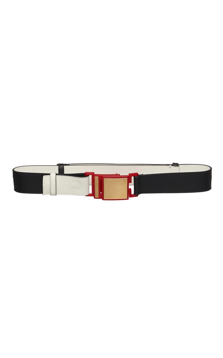 Leather and Acrylic Belt Marni kE1WlI0rz