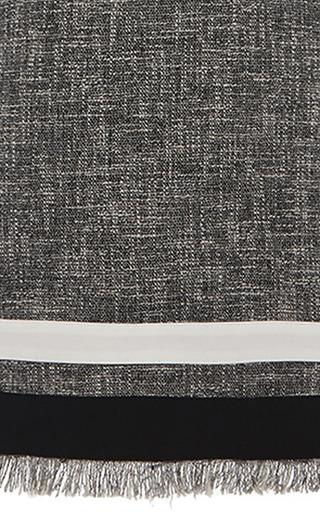 Sleeveless Tweed Shift Dress by MSGM for Preorder on Moda Operandi
