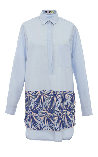 Msgm resort 2015 moda operandi for Crisp white cotton shirt