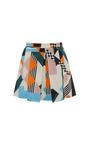 Optical Pique Print Mini Skirt by MSGM for Preorder on Moda Operandi