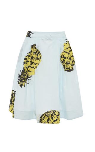 Medium msgm print pineapple print a line skirt