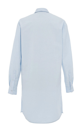 Pale Blue Shirt Dress by MSGM for Preorder on Moda Operandi
